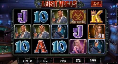 Lost Vegas gokkast